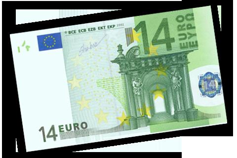 14 euros: